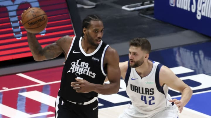 Dallas Mavericks Kawhi Leonard Mandatory Credit: Kevin Jairaj-USA TODAY Sports