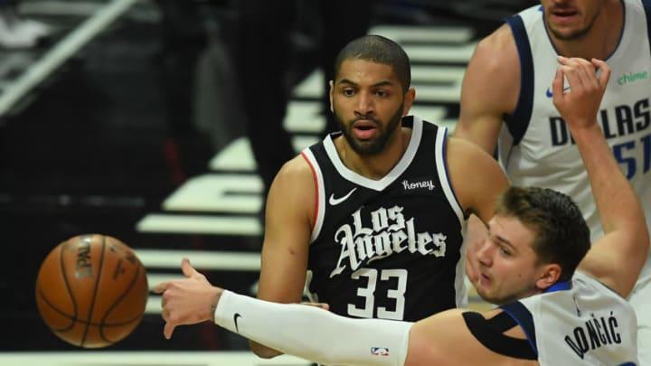 Dallas Mavericks Nicolas Batum Luka Doncic Mandatory Credit: Jayne Kamin-Oncea-USA TODAY Sports