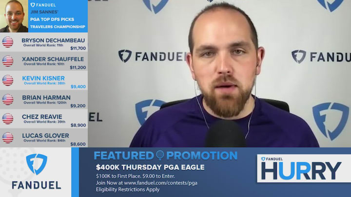 The FanDuel Hurry Up team takes a deeper look at evaluating American golfer Kevin Kisner's fantasy outlook and potential value ahead of this weekend's upcoming 2020 Travelers Championship PGA Tour tournament event at the TPC River Highlands Golf Course in Cromwell, Connecticut.