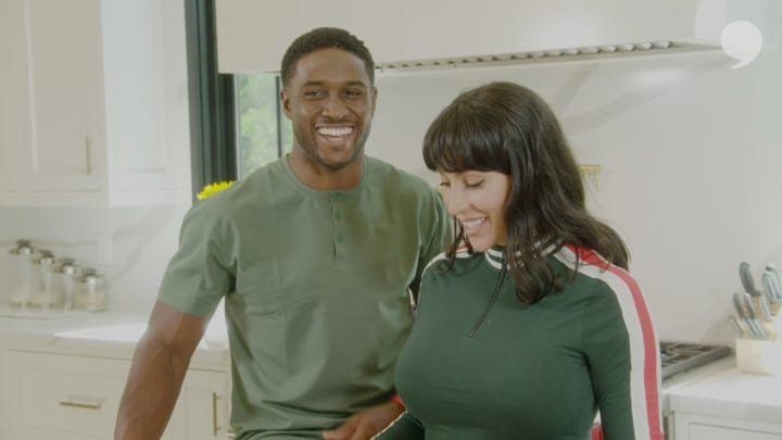 In the Kitchen With Reggie and Lilit Bush