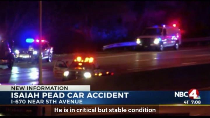 Isaiah Pead discusses car crash that severed his leg