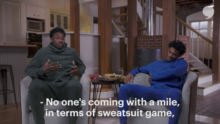 Ja Morant and Jaren Jackson Jr. On Style