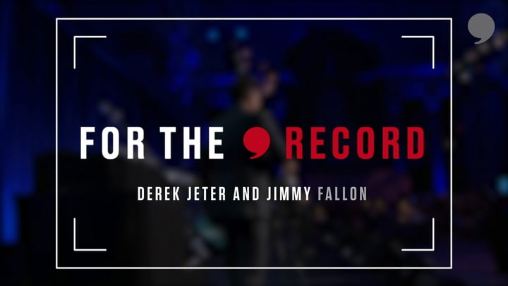 Jimmy Fallon and Derek Jeter share their memories together