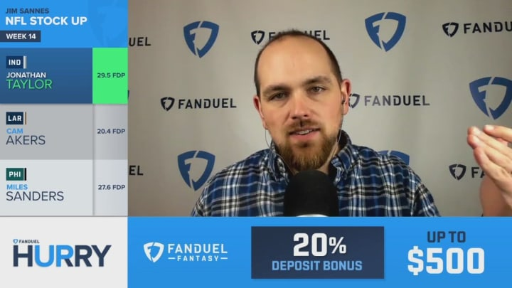 Jonathan Taylor's Stock On The Rise - FanDuel Hurry Up