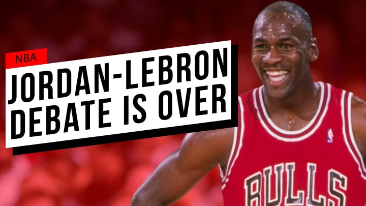 After the ending of 'The Last Dance,' it's clear that there's no comparison between Air Jordan and the King.