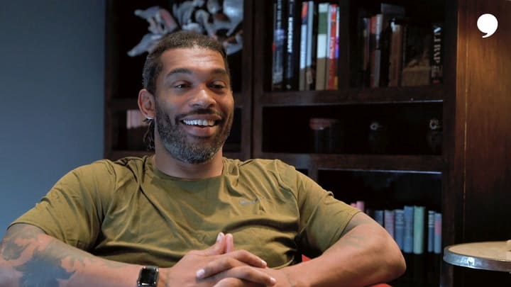 After 17 years in the NFL, the Carolina Panthers' Julius Peppers announces his retirement. He talks about the great memories he has made playing football and how he is ready to focus on being a dad.