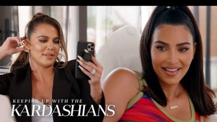 Kim & Khloé Kardashian Investigate Who's Behind Nori's Black Book   KUWTK   E!