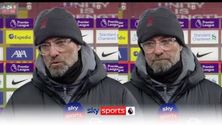 Liverpool boss Jurgen Klopp says top four is now 'main' target after 4-1 loss to Manchester City