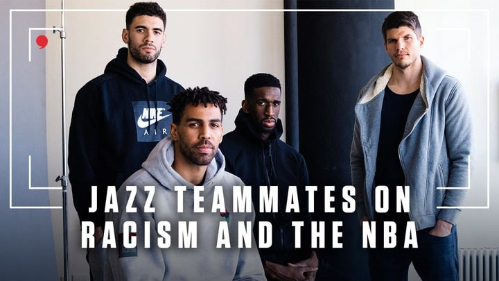 Jazz teammates Kyle Korver, Georges Niang, Thabo Sefolosha and Ekpe Udoh discuss the March 2019 incident in which the Thunder's Russell Westbrook got into an altercation with a Utah fan after he heckled the Oklahoma City guard with racist comments.