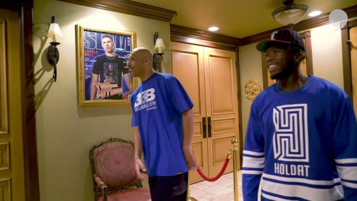 LaVar Ball invites Nate Robinson into his Big Baller Mansion | Houseguest with Nate Robinson
