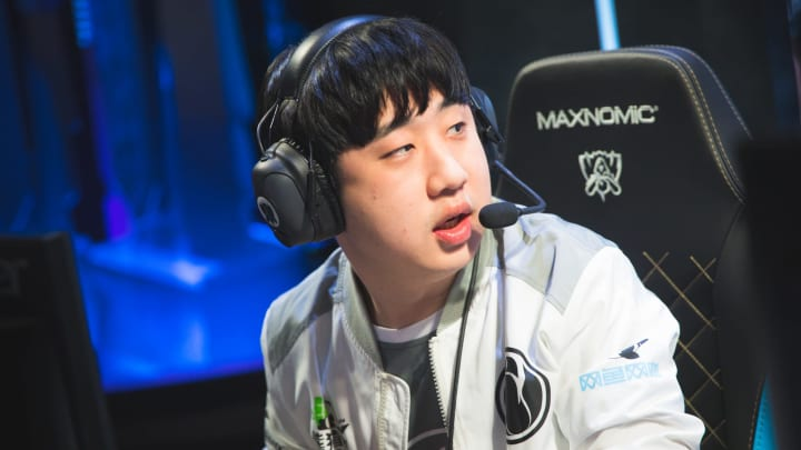 Duke announced his departure from Invictus Gaming on Thursday