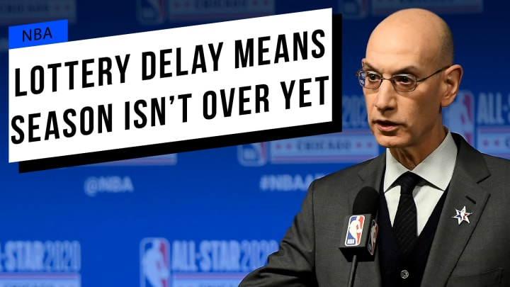 The delay of the NBA Draft and Lottery means good things for the return of the league's regular season.
