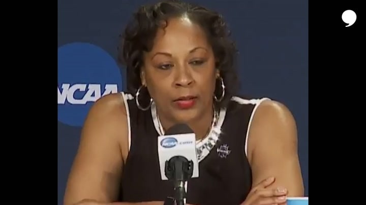 """""""The fight isn't easy. ...it's necessary.""""  Felisha Legette-Jack thought she'd never coach again. Then the University of Buffalo came calling.  This is her story."""