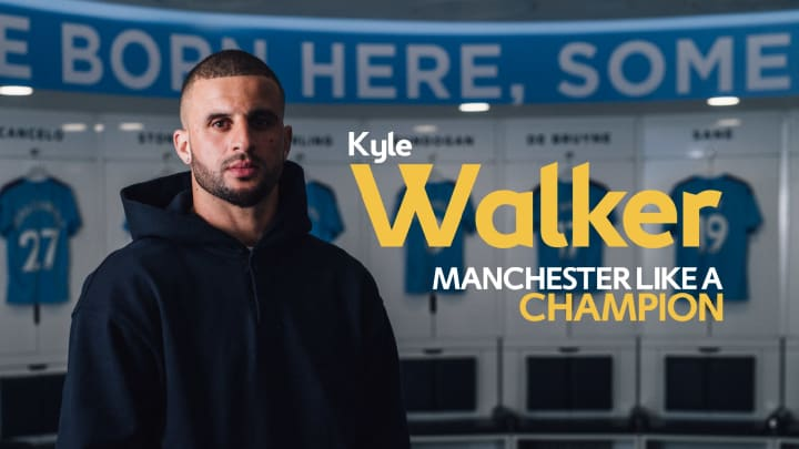 Manchester Like a Champion | Kyle Walker