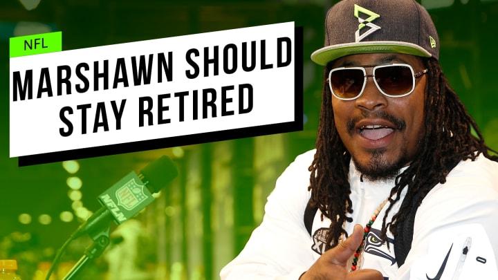Marshawn Lynch Should Stay Retired