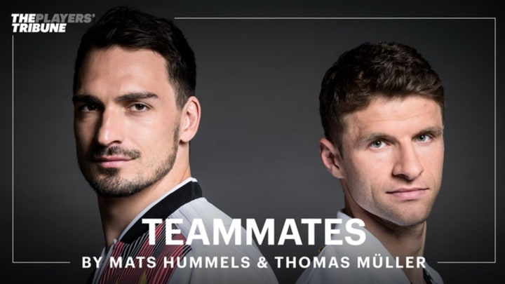 Germany and Bayern Munich stars, Mats Hummels and Thomas Müller reflect on playing for club and country, and the experiences they've had along the way.