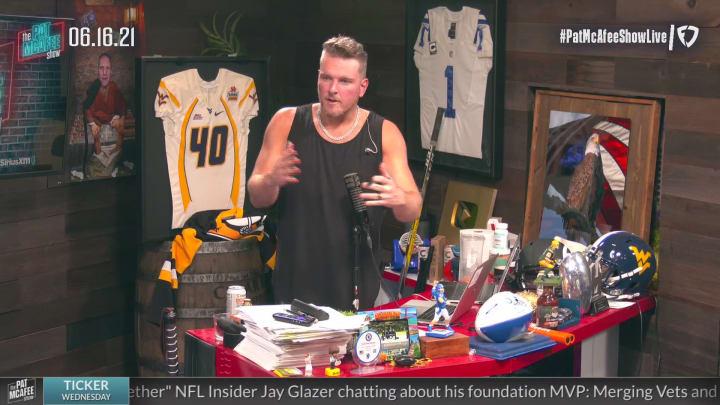 Matt Nagy on Bears QB Situation – The Pat McAfee Show