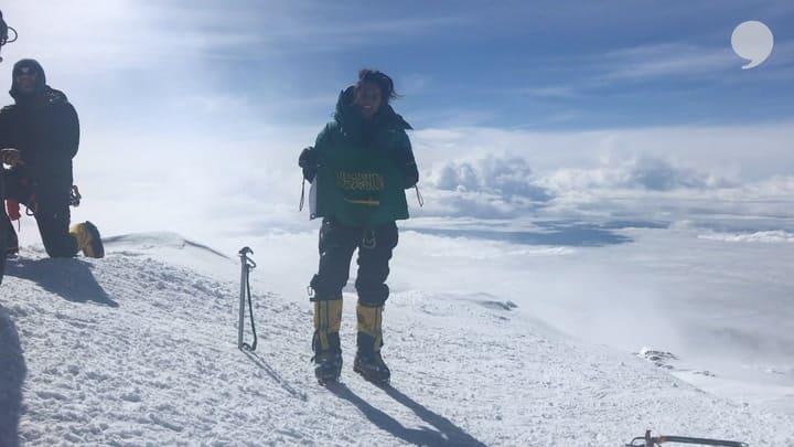 Meet the First Saudi Woman to Climb the Seven Summits