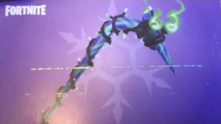 Mints Pickaxe Fortnite How To Get Minty Pickaxe Fortnite