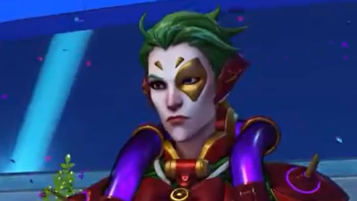 Moira Christmas Skin 2021 Overwatch Holly Moira How To Get The Epic Skin