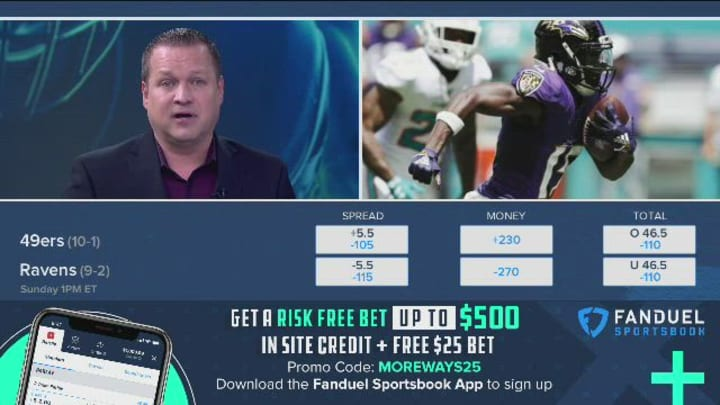 49ers vs ravens betting odds coral online betting offers