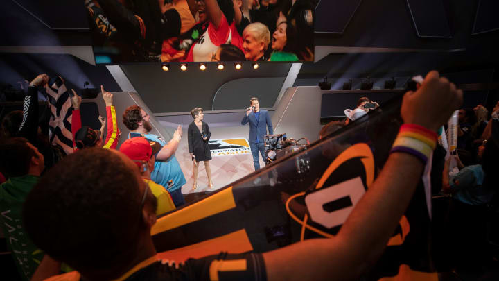 Opening day of Overwatch League Season 2