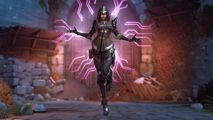 Overwatch Halloween Skins 2020 Sombra Overwatch Halloween Terror Challenge Offers Demon Hunter Sombra