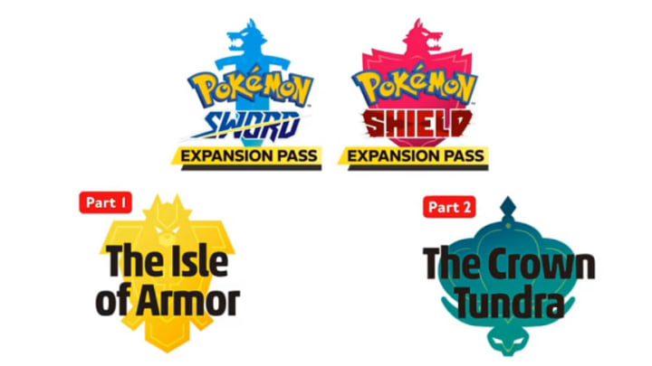 Pokémon Sword and Shield will receive an expansion pass entitling players to two DLC packs