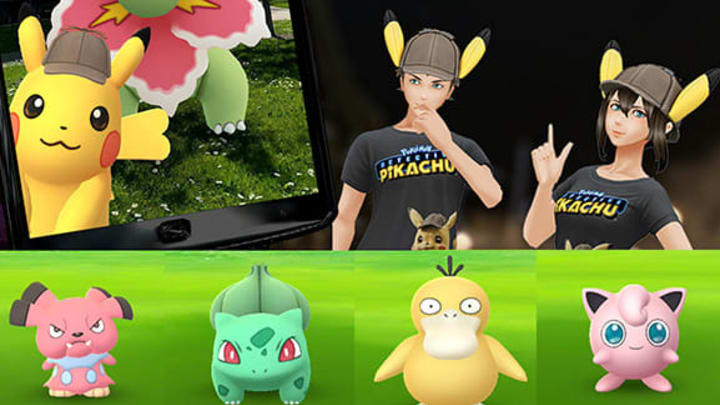 Catch the Water Type Pokemon Carried in a Backpack is completed by catching Psyduck