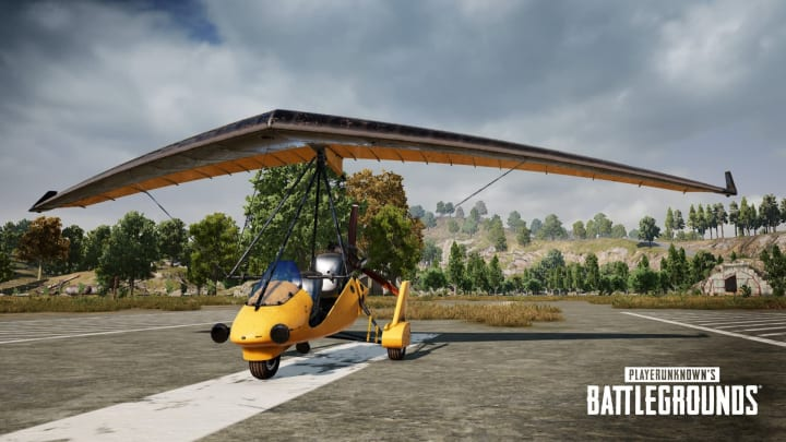 PUBG's Motor Glider is available for a limited time