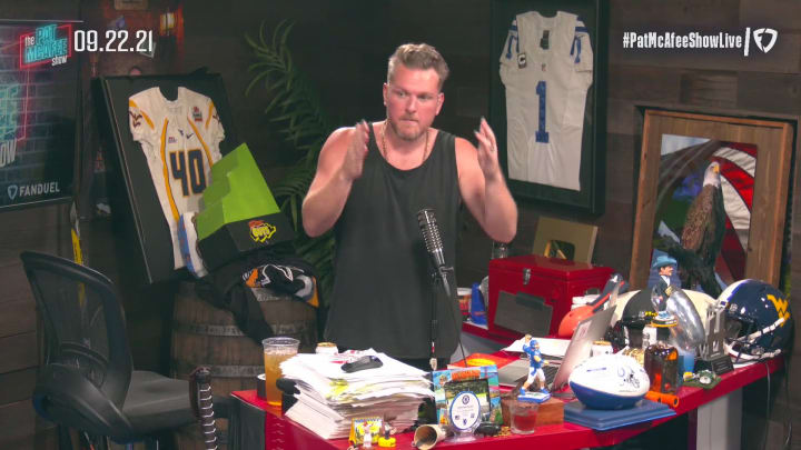 Reaction to Rodgers Week 2 – The Pat McAfee Show