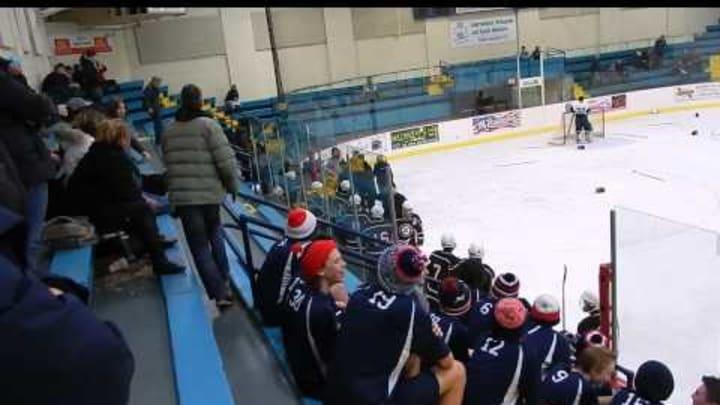 Ref vs. Player High School Hockey Fight