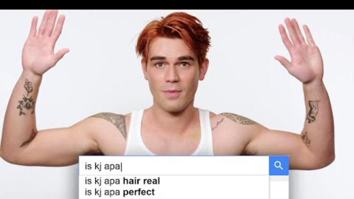 Riverdale's KJ Apa Answers the Web's Most Searched Questions   WIRED