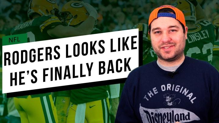 Rodgers Looks Like He's Finally Back