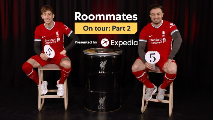 Roommates on Tour E4: Kostas Tsimikas and Xherdan Shaqiri