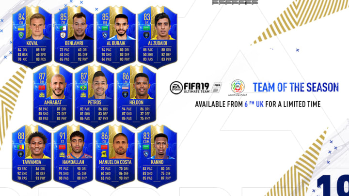 SPFL TOTS FIFA 19 trolled people on Friday because it wasn't EPL players