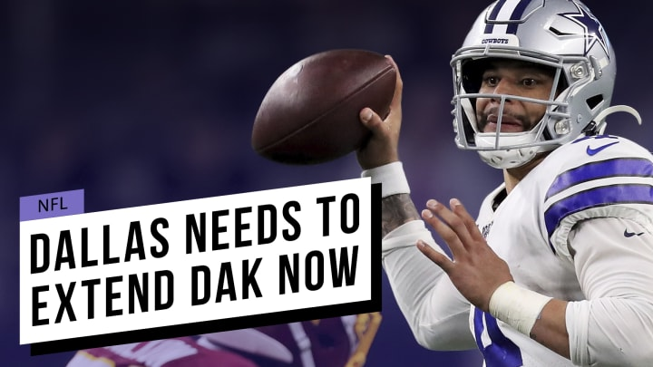 It will take more than just franchising Dak Prescott to win this year in Dallas.