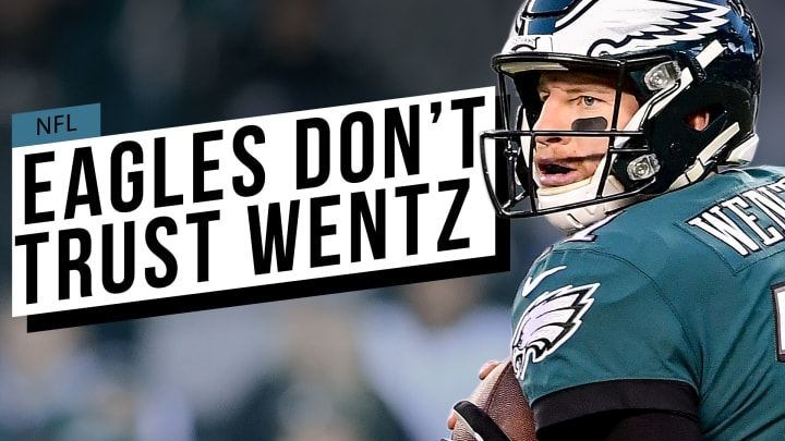 Philadelphia's latest second-round draft pick shows they aren't sure about the health of their franchise QB.