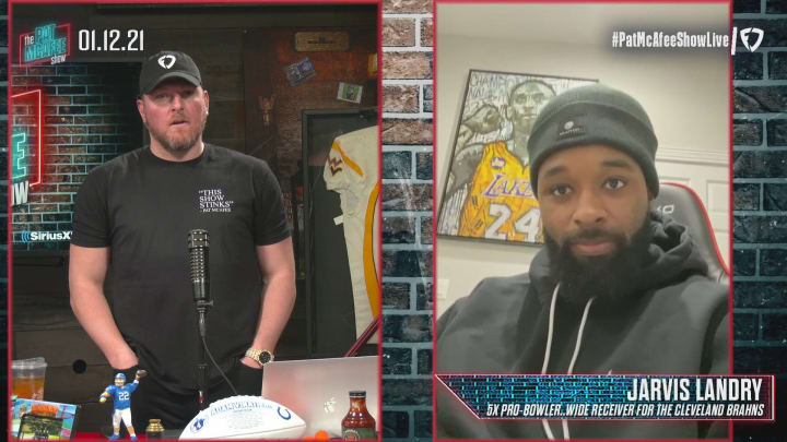 The Pat McAfee Show: Jarvis Landry Joins The Show