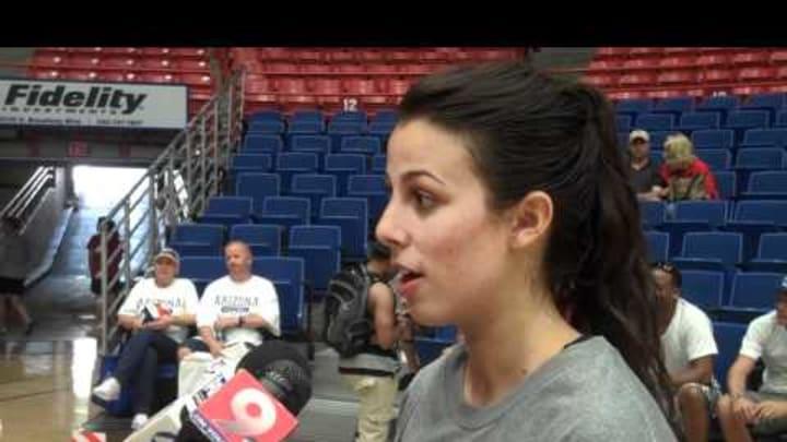 Tori Moore Post Game 8-20-11 By Arizona Athletics
