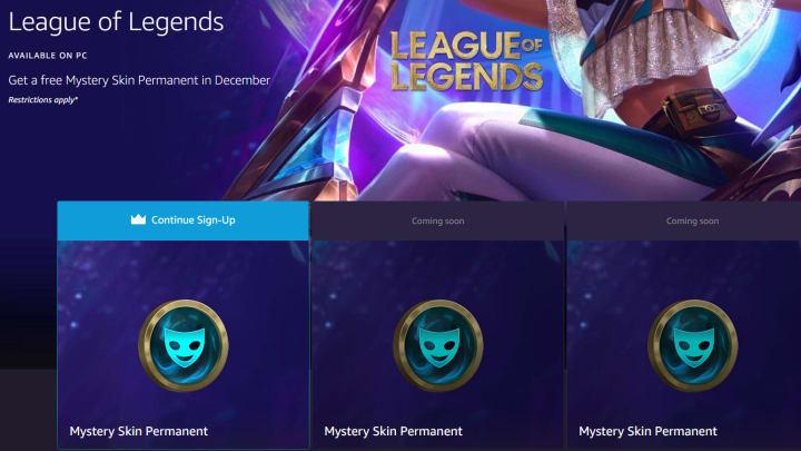 Amazon prime gaming loot