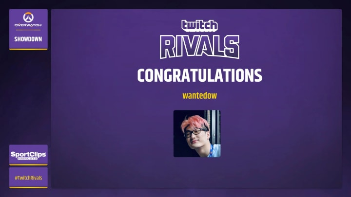Overwatch Workshop Twitch Rivals results show a dramatic surprise win by Wanted.