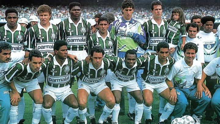 Palmeiras dos anos 90 tinha Zinho, Evair, Edmundo e Edilson