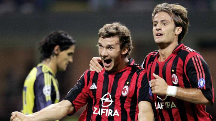 AC Milan's Andriy Shevchenko of Ukraine