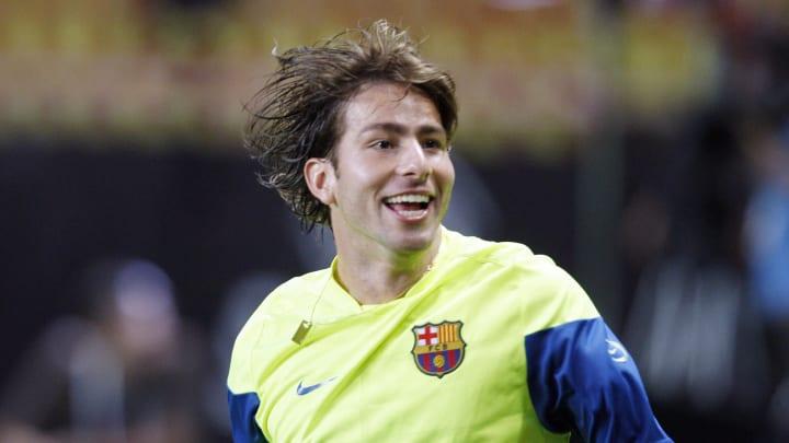 Barcelona's defender Scherrer Maxwell at
