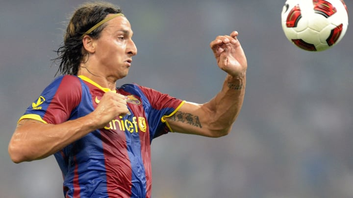 European champions Barcelona's player Zl