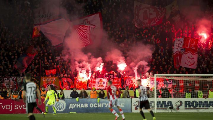 FK Crvena Zvezda vs FK Partizan - Serbian Super League