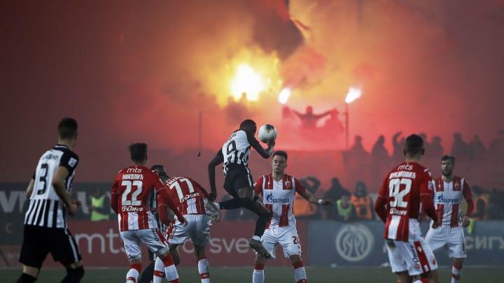 FK Red Star Belgrade vs  FK Partizan - Serbian SuperLiga