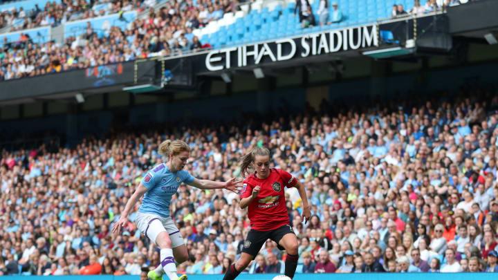Manchester City v Manchester United - Barclays FA Women's Super League