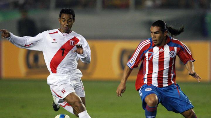 Paraguay's footballer Salvador Cabanas (